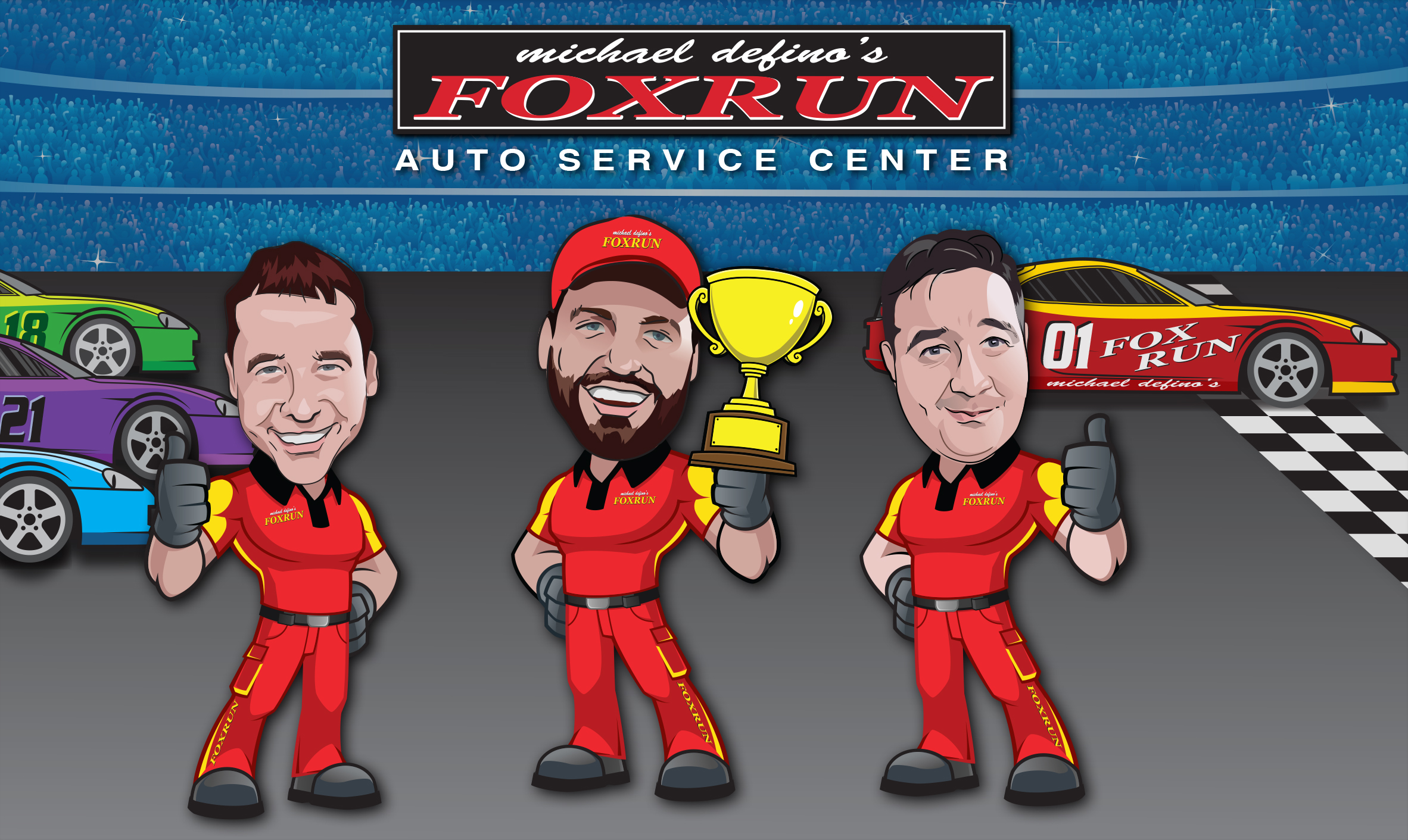 Count on the Winning Team at Fox Run Auto