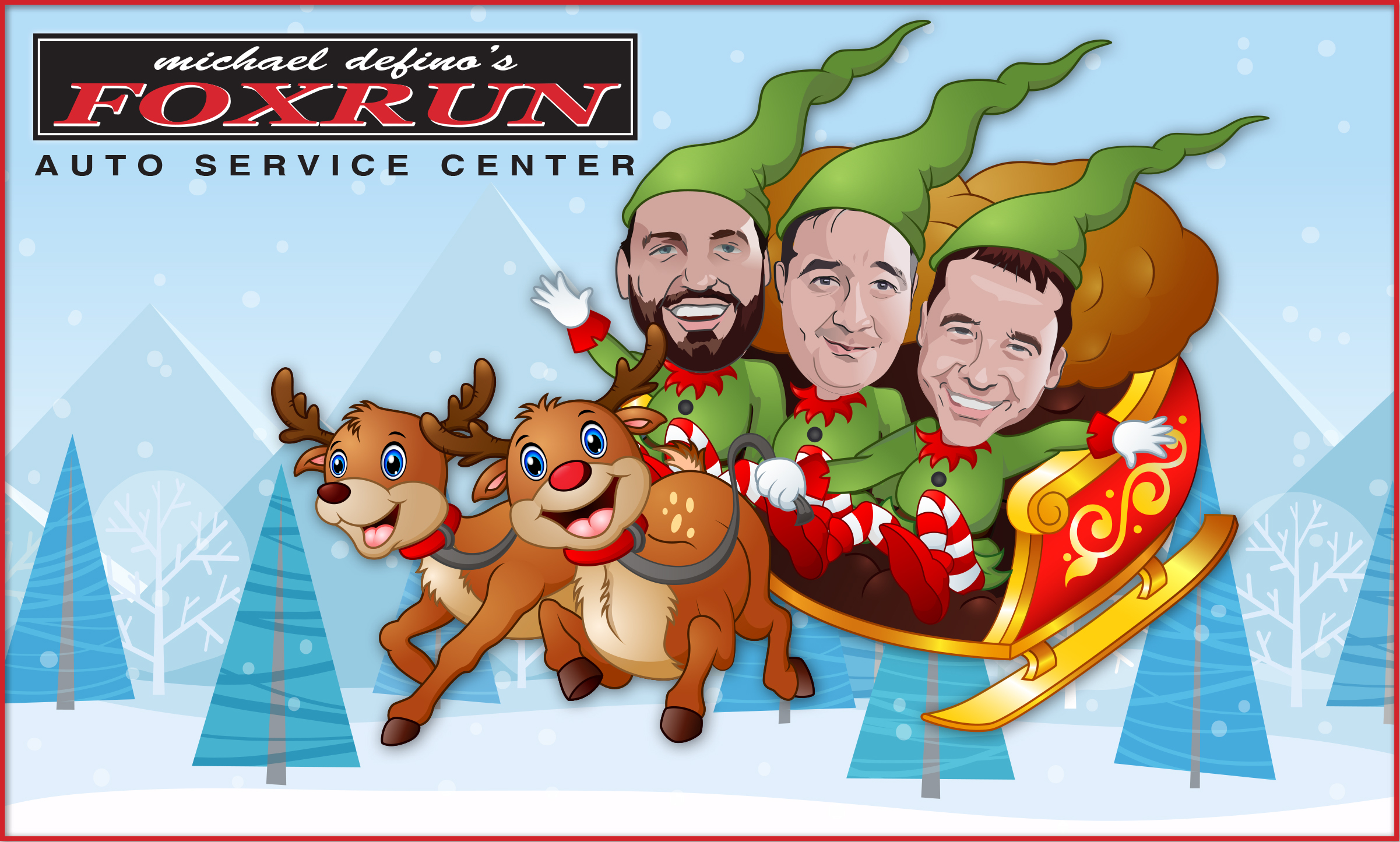 Fox Run Auto Wishes You a Happy Holiday Season!