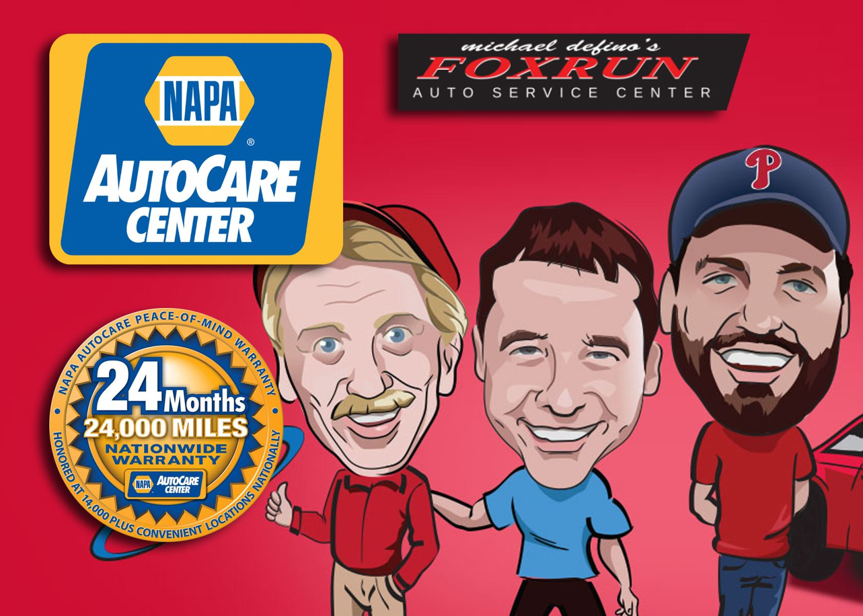 Fox Run Auto Offers the NAPA AutoCare Peace of Mind Warranty